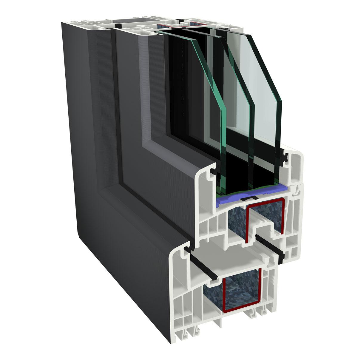 Fenster kunststoff schirling t ren for Fensterelemente kunststoff