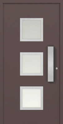 Haustüren braun  Haustüren (Aluminium) - Premium 4 - Schirling Türen